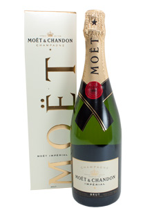 Bottle of Moet and Chandon Champagne