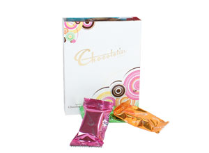 Chocolatier Flow Wrapped Chocolate Assortments 8 Pieces 85g