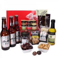 Gift Wrapped Up Asahi Savoury Deluxe Hamper