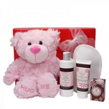 Gift Wrapped Up Baby Hamper Mini Pamper Mother & Baby girl