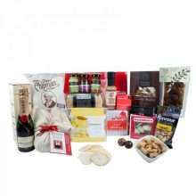 Gift Wrapped Up Christmas Hamper Mini Moet Deluxe