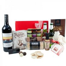 Gift Wrapped Up Christmas Hamper Red Deluxe
