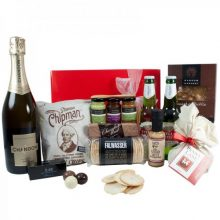 Gift Wrapped Up Christmas Hamper Sparkling Deluxe