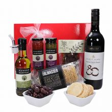 Gift Wrapped Up Corporate Gift Hamper Delight Red