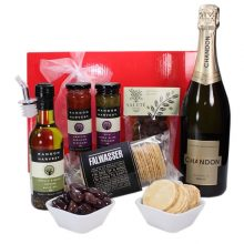 Gift Wrapped Up Corporate Gift Hamper Delight Sparkling
