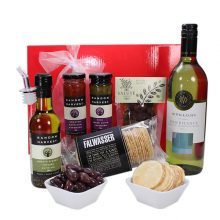 Gift Wrapped Up Corporate Gift Hamper Delight White