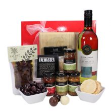 Gift Wrapped Up Corporate Hamper Superior Business White