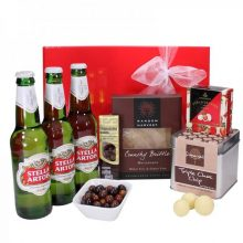 Gift Wrapped Up Deluxe Mens Gift Hamper Stella Artois Heavenly