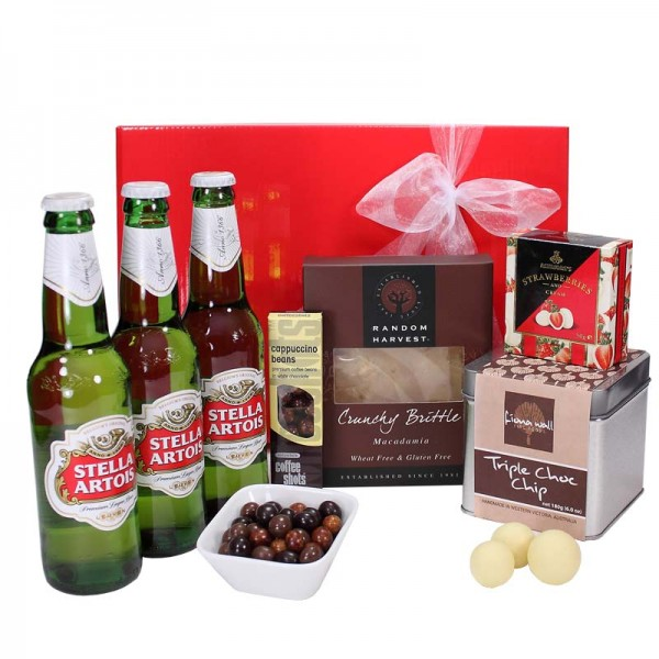 Gift wrapped up deluxe mens gift hamper stella artois gift wrapped up share negle Gallery