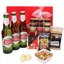 Gift Wrapped Up Deluxe Mens Hamper Stella Savoury