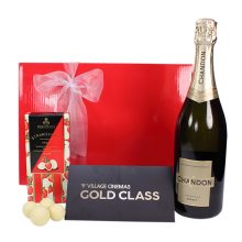 Gift Wrapped Up Gift Hamper Gold Class & Chandon Sparkling