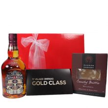 Gift Wrapped Up Gift Hamper Gold Class Indulgent