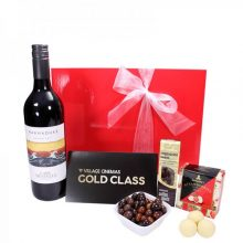 Gift Wrapped Up Gift Hamper Gold Class Movie Madness