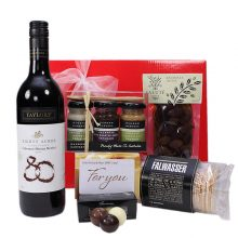 Gift Wrapped Up Gift Hamper Myer Gift Card & Red