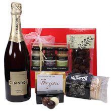 Gift Wrapped Up Gift Hamper Myer Gift Card & Sparkling