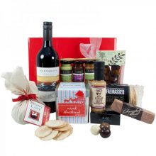 Gift Wrapped Up Gourmet Christmas Hamper Red Treats