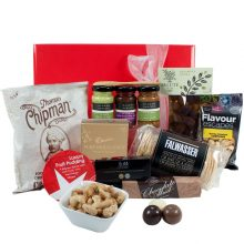 Gift Wrapped Up Gourmet Christmas Hamper Treats