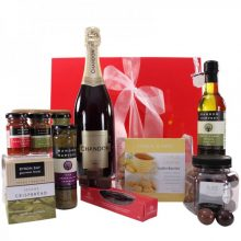 Gift Wrapped Up Gourmet Hamper Sparkling Chandon Treats