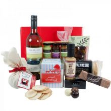 Gift Wrapped Up Gourmet White Christmas Hamper