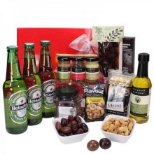 Gift Wrapped Up Heineken Savoury Deluxe Hamper
