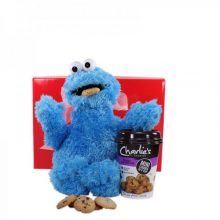 Gift Wrapped Up Kids Gift Hamper Cookie Monster Rocks