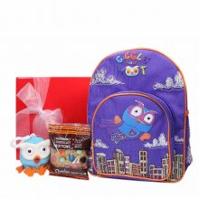 Gift Wrapped Up Kids Gift Hamper Super Hoot & Hoot Buddy