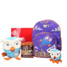 Gift Wrapped Up Kids Gift Hamper Super Hoot & Hoot Buddy Combo
