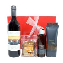 Gift Wrapped Up Luxury Gift Hamper Urban Rituelle Red Hamper
