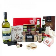 Gift Wrapped Up White Deluxe Christmas Hamper