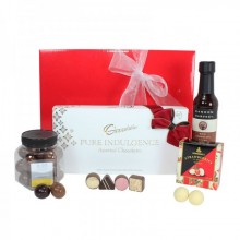 Hamper including Chocolate products