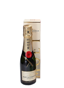 Mini Bottle of Moet and Chandon Champagne