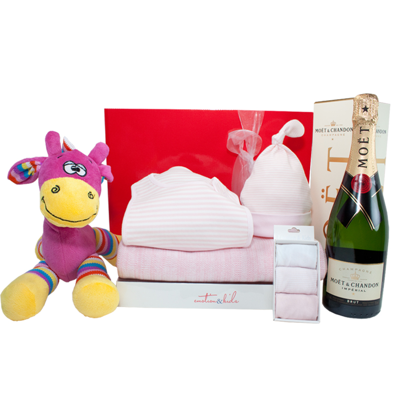 New Baby Gift Hampers Perth : Gift wrapped up baby girl hamper bundle of joy