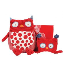 Gift Wrapped Up Baby Girl Hamper Pillow Pals