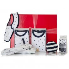GIFT WRAPPED UP BABY BOY GIFT HAMPER STAR BRIGHT