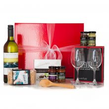 GIFT WRAPPED UP GOURMET WINE GIFT HAMPER RIEDEL (2)