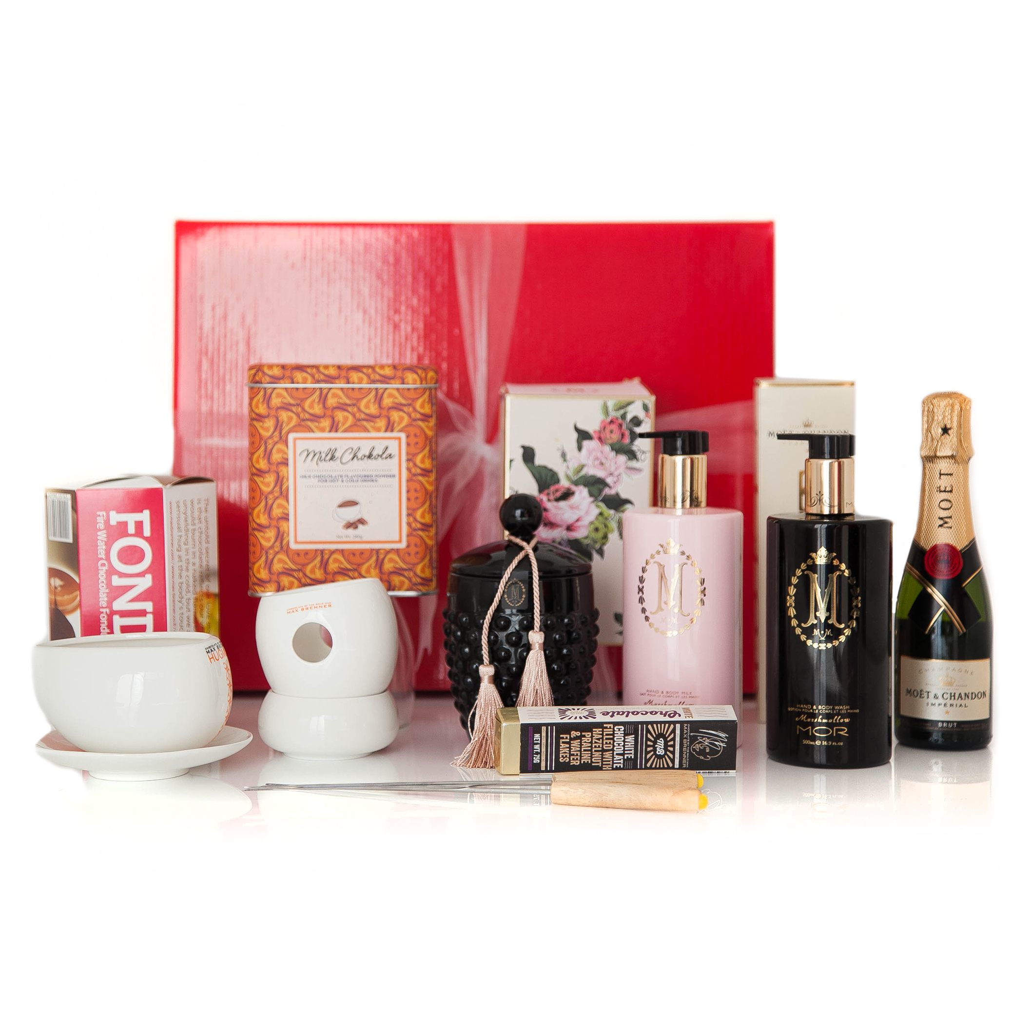 Gift wrapped up luxury gift hamper moet max mor gift wrapped up gift wrapped up luxury gift hamper moet max brenner mor negle Gallery