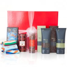 GIFT WRAPPED UP MENS GIFT HAMPER MAN RAG SOCKS