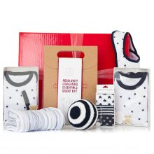GIFT WRAPPED UP NEWBORN BABY GIFT HAMPER MOTHER & SON