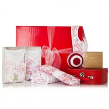 GIFT WRAPPED UP NEWBORN GIFT HAMPER JAPANESE BLOSSOM