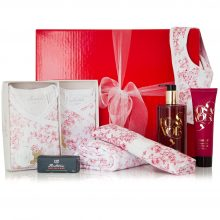 GIFT WRAPPED UP NEWBORN GIFT HAMPER JAPANESE BLOSSOM LARGE