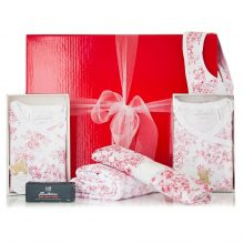 GIFT WRAPPED UP NEWBORN GIFT HAMPER JAPANESE BLOSSOM SET