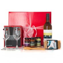 GIFT WRAPPED UP WINE GIFT HAMPER