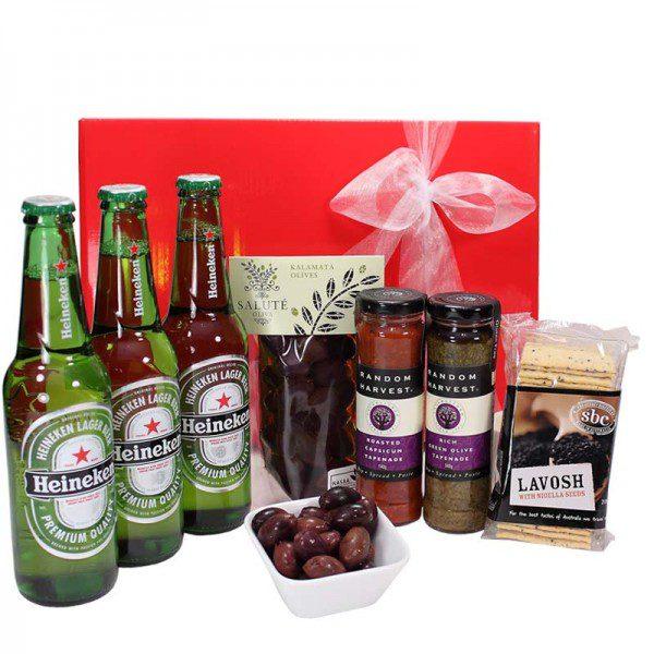 Gift Wrapped Up Heineken Beer Gift Hamper