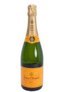 A Bottle of Veuve Clicquot champagne