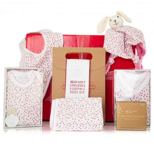 Gift Wrapped Up Mother Baby Girl Gift Hamper